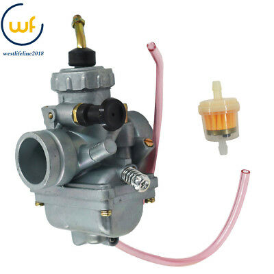 Carburetor For Suzuki LT250E LT250EF Quadrunner 250 1985 1986 1987 Replacement ATV Carb w//Fuel Filter
