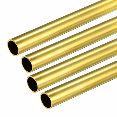 4PCS 7mm x 8mm x 500mm Brass Pipe Tube Round Bar Rod for RC Boat