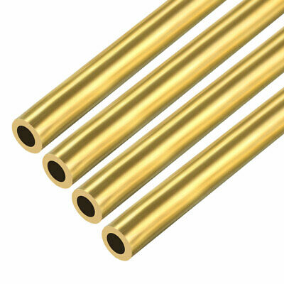 4PCS 2mm x 5mm x 500mm Brass Pipe Tube Round Bar Rod for RC Boat