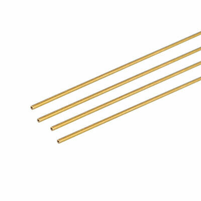 4PCS 0.15mm x 0.4mm x 500mm Brass Pipe Tube Round Bar Rod for RC Boat