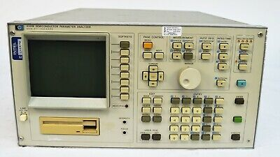 HP Agilent 4145B Semiconductor Parameter Analyzer No Disk *For Parts/Repair*