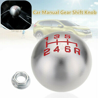 6 Speed Manual Gear Stick Shift Knob Lever Aluminum Car M10x1.Thread For Honda