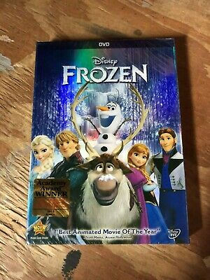 Frozen DVD Disney New Free Shipping