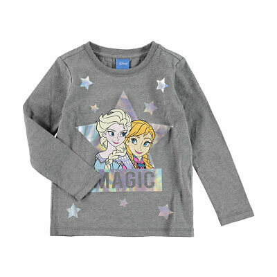 Disney Frozen Girls long sleeve tee t shirt top New with tags Free postage
