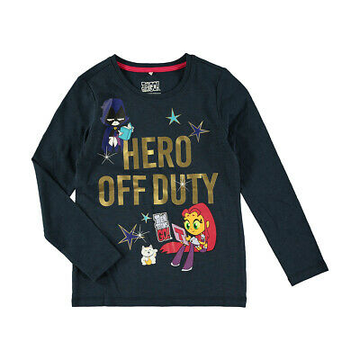 Teen Titans Go! Girls long sleeve tee t shirt top New with tags Free postage