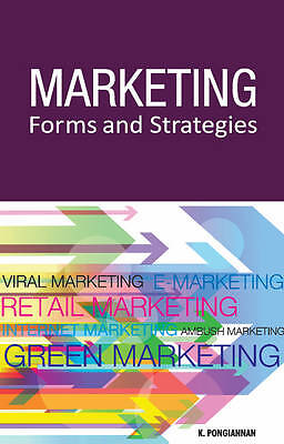Marketing Forms & Strategies by K. Pongiannan (Hardback, 2012)