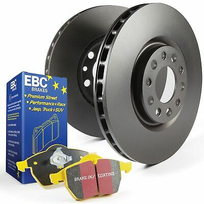 EBC Rear OE/OEM Replacement Brake Discs and Yellowstuff Pads Kit - PD03KR721