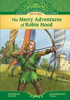 Merry Adventures of Robin Hood by Howard Pyle 9781616411077   Brand New