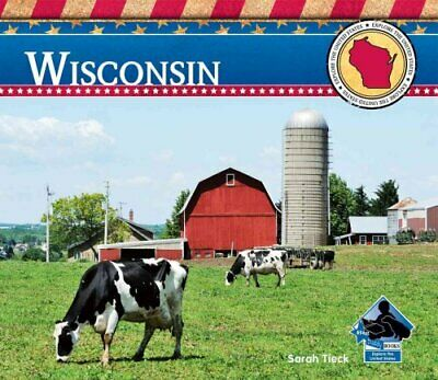 Wisconsin by Sarah Tieck 9781617833892 | Brand New | Free UK Shipping