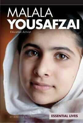 Malala Yousafzai Education Activist by Rebecca Rowell 9781617838972 | Brand New