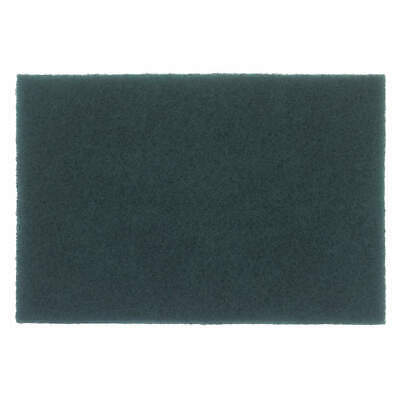 """GRAINGER APPROVED Sanding Hand Pad,9"""" L x 6"""" W,Non-Woven, 05539579600, Green"""
