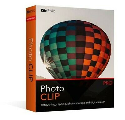 InPixio Photo Clip Professional 8.6 / Photo Editor / Buy 1Get 2/ Fast E-delivery