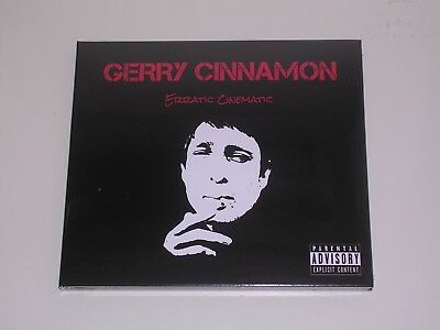 Gerry Cinnamon - Erratic Cinematic Cd Mint/Brand New/Sealed + Free Uk P&P