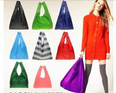 new Lady Foldable Recycle Bag Eco Reusable Shopping Bag Fruit Vegetable Grocery
