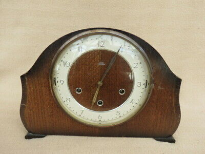 Vintage Smiths Westminster Whittington Chime Mantel Clock For Tlc