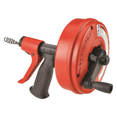 "RIDGID Drain Cleaner,Line Cap. Up to 1-1/2"", 57043"