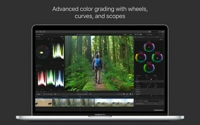 Final Cut Pro X 10.4.6 – Professional video editing solution. Lifetime license.