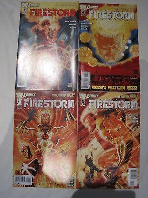 FIRESTORM, DC THE NEW 52 :  issues 1, 2, 3, 4. NM. By SIMONE,VAN SCIVER etc.2012
