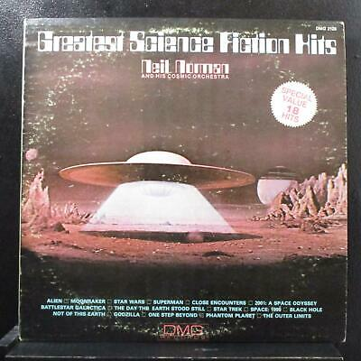 Neil Norman - Greatest Science Fiction Hits LP Mint- DMG 2128 Promo Vinyl Record