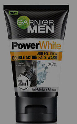 195f00b606 GARNIER MEN FACE Wash Power White Double Action 100g - $8.99 | PicClick