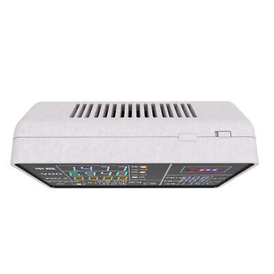 9-in-1 Digital Display USB Rechargeable HCHO VOC PM2.5 PM10 PM1.0 Detector E4C5