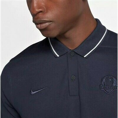 8a28d536 Rare Nwt Nike Golf Ryder Cup 2018 Official Polo Shirt AO4143 451 Tw tiger  woods