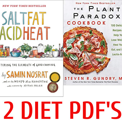 Plant Paradox Cookbook by Steven R. Gundry Salt Fat Acid Fitness Nutritions P DF