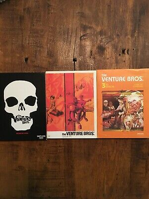 The Venture Bros. Seasons 1-3 Dvd