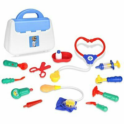 Zooawa Doctor Kits Pretend Play, Medical Doctor and Nurse Set Role Play Toy