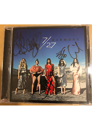 SIGNED FIFTH HARMONY 7/27 ALBUM BY ALL 5 MEMBERS (including camila)