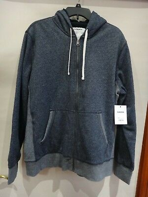 Vertical Sport Men/'s Quilted Moto Sherpa Fleece Lined Zip Up Hoodie Jacket PF120