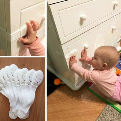 Safety Precaution Baby Child Kid Lock Protection Cabinet Cupboard Doors Strap
