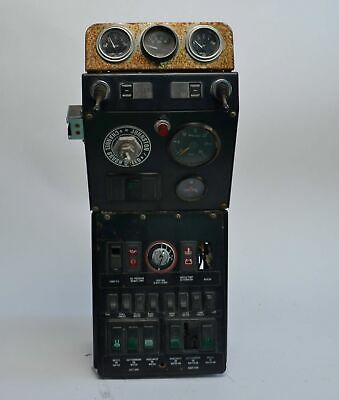 Johnston Series 605 Street Sweeper Control Controller Console Panel Assembly