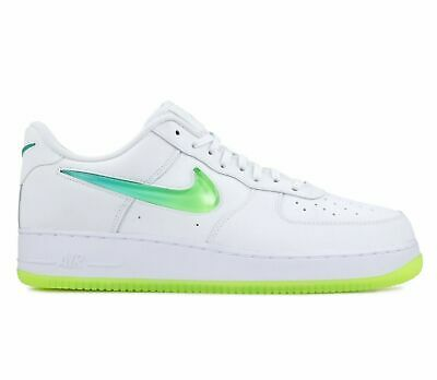 NIKE AIR FORCE 1 '07 Premium 2 Jelly Mens White Volt Shoes