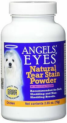 Angels' Eyes Plus Chicken Formula 75 gram | Natural Tear Stain Remover for Dogs: