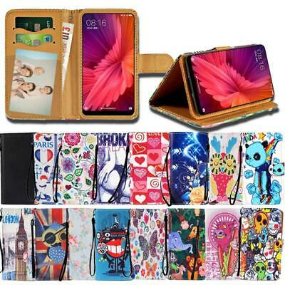 For Various Xiaomi Redmi Note SmartPhones Leather Smart Stand Wallet Cover Case