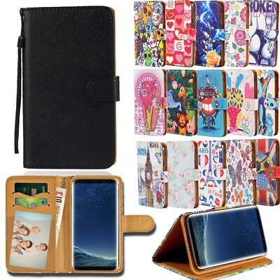 For Samsung Galaxy Grand Phones - Leather Smart Stand Wallet Cover Case