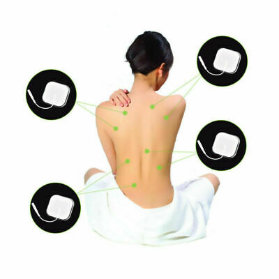 8pcs Replacement for Massager Tens Units Electrode Pads Therapy Machine 4*4CM