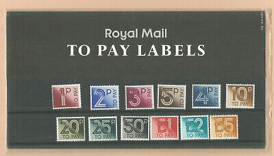 Gb Qe2  Presentation Pack  1982   No.135   To Pay Labels To  £5  Mint