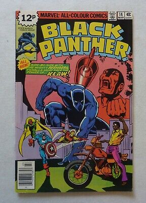 Black Panther 14 Marvel Comics Bronze Age 1979 NM- Condition Jack Kirby Run