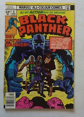 Black Panther 8 Marvel Comics Bronze Age 1978 NM- Condition Jack Kirby