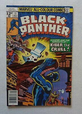 Black Panther 11 Marvel Comics Bronze Age 1978 NM- Condition Jack Kirby