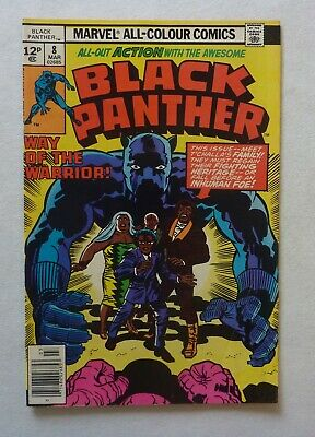 Black Panther 8 Marvel Comics Bronze Age 1978 VFN Condition Jack Kirby