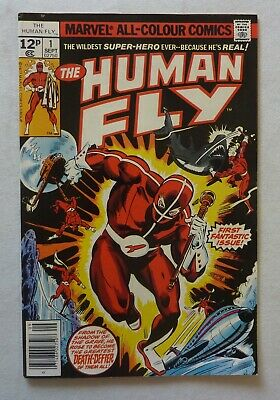 Human Fly 1 Marvel Comics Bronze Age 1977 NM- Condition