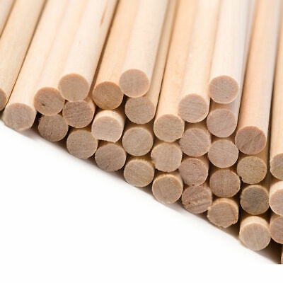 Hardwood Dowels. 150mm - 15cm Length. Birch. Ramin. Stick. Crafts. 5mm - 25mm