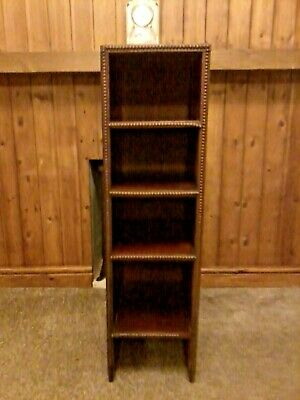 Rare Antique Pianola Music Roll Storage Cabinet, Could Be Used For Wine Storage