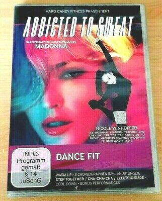 NEU - Hard Candy Fitness - Addicted to Sweat - Workout Madonna - Dance Fit - DVD