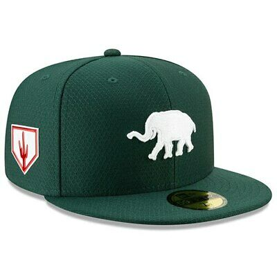 super popular 00f9a 3c958 New Era Oakland Athletics Green 2019 Spring Training 59FIFTY Fitted Hat