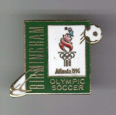 Rare Pins Pin's .. Olympique Olympic Atlanta 96 Usa Birmingham Football ~19