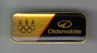 Rare Pins Pin's .. Olympique Olympic Atlanta 96 Usa Auto Car Oldsmobile ~19